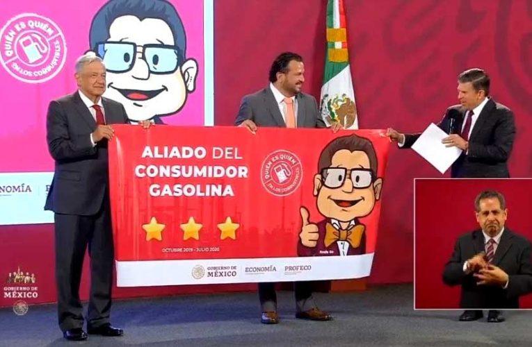 Gasolineras de Ignacio Emilio Escobosa Serrano son reconocidas por Profeco